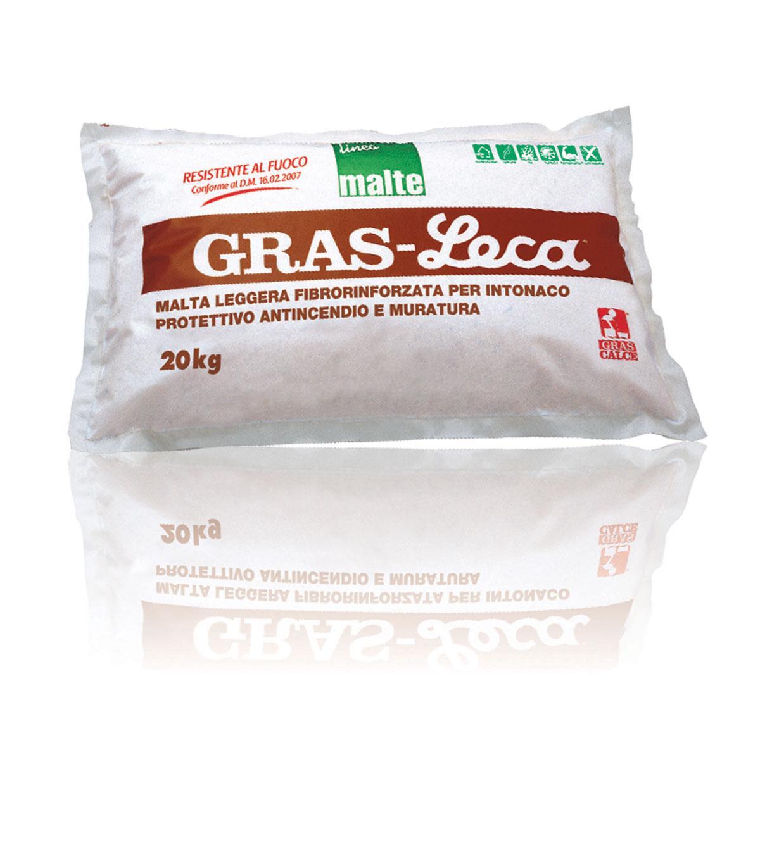 Gras leca malta termoisolante per intonaco antincendio for Gras calce malta bastarda