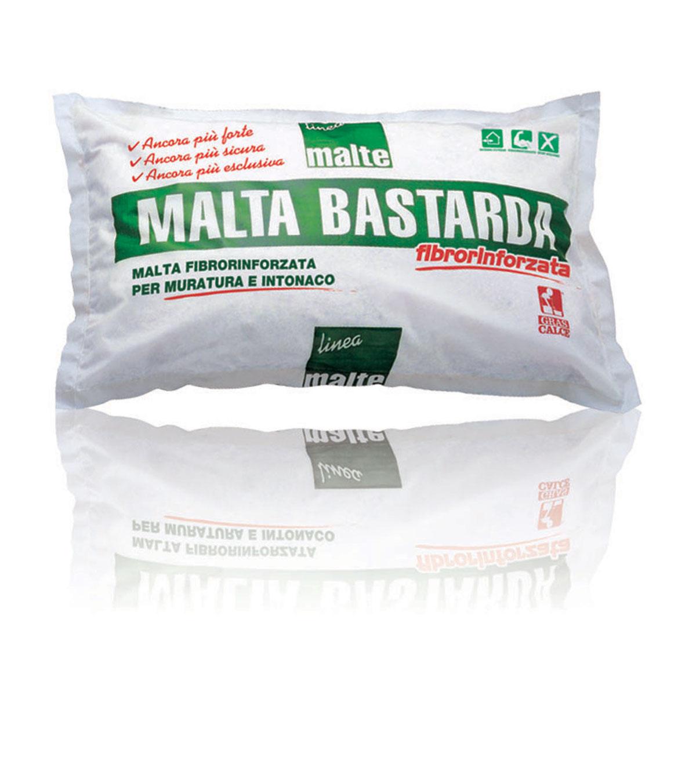 Malta bastarda fibrorinforzata gras calce for Gras calce malta bastarda