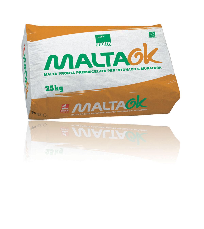 Maltaok malta premiscelata gras calce for Gras calce malta bastarda