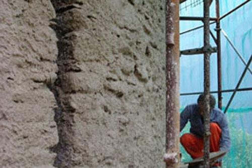 Il restauro dei fortini della fame bellinzona grascalce for Gras calce malta bastarda